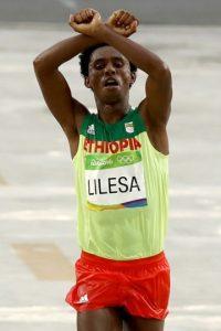 El etiope Feyisa Lisela teme por su vida Foto:Getty Images