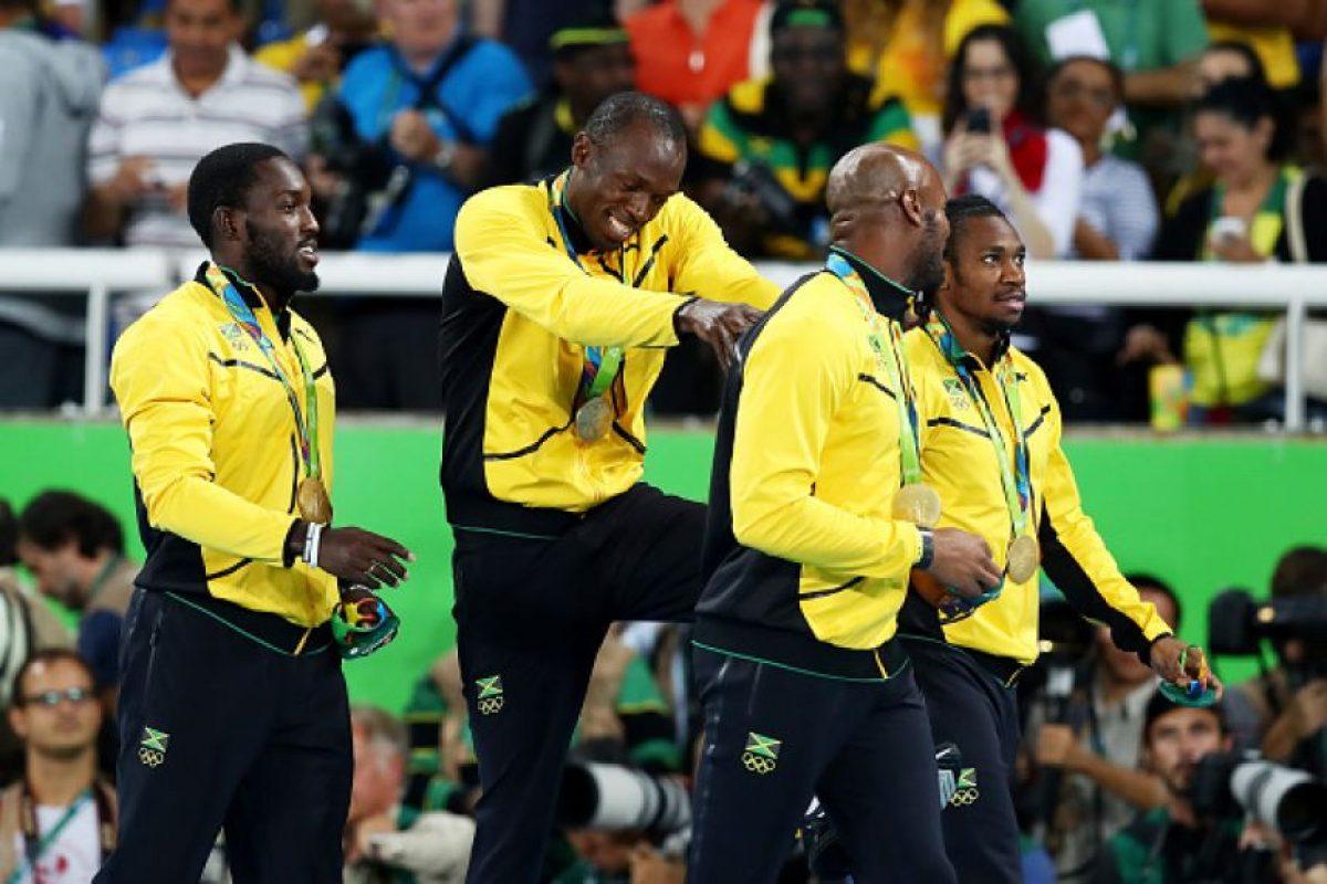 Ganó 3 medallas de oro Foto:Getty Images