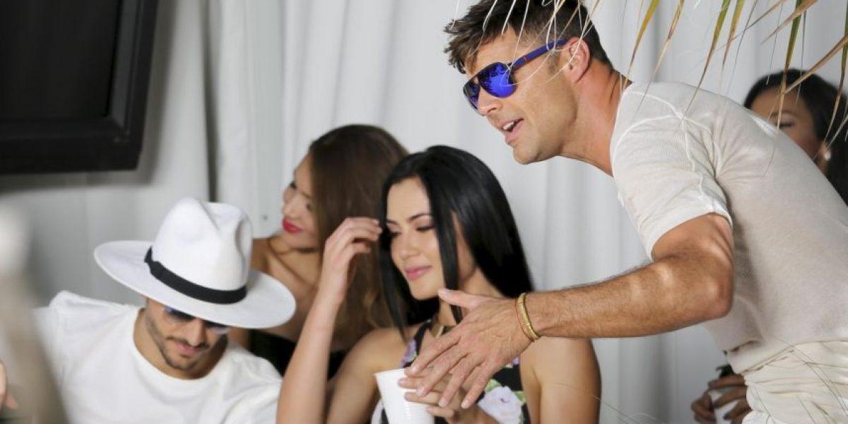 Las primeras imágenes del video de Maluma y Ricky Martin