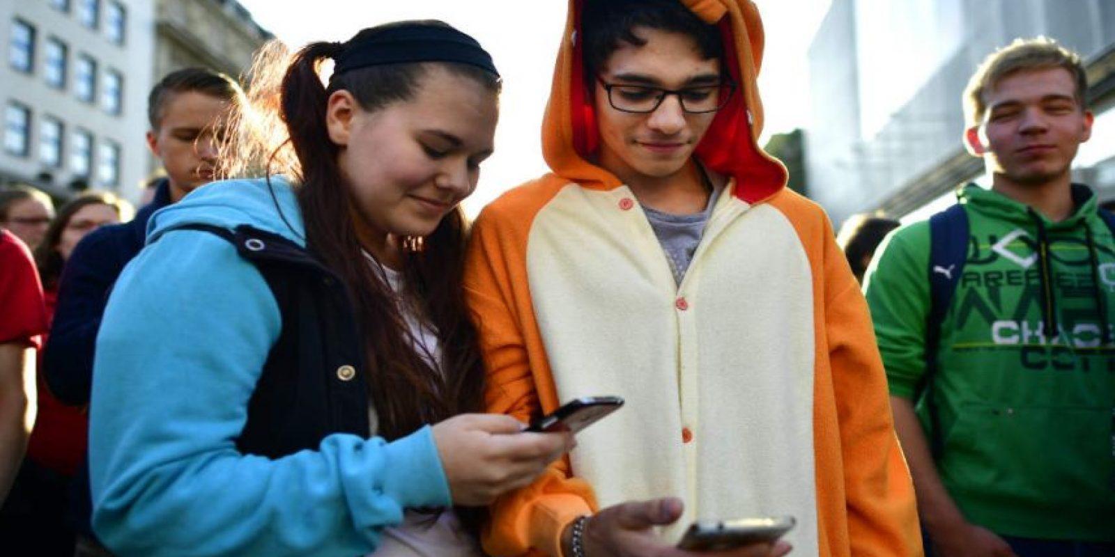 Pokémon Go ha sido una fiebre mundial. Foto:Getty Images