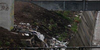 La muestra de los escombros. Foto:Juan Pablo Pino-Publimetro