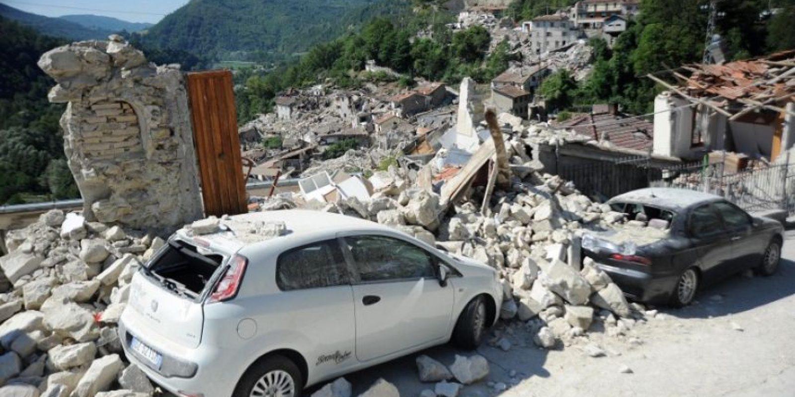 Es una de las cudades más afectadas Foto:AFP