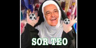 """Como todos los años, se bromeó con los """"amaños"""" del Real Madrid en los sorteos. Foto:Vía twitter.com"""