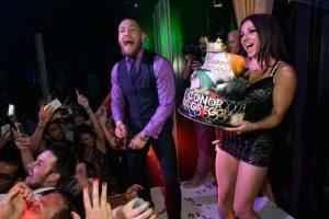 Otro que suele celebrar su cumpleaños aquí es el peleador de artes marciales Conor McGregor Foto:Getty Images