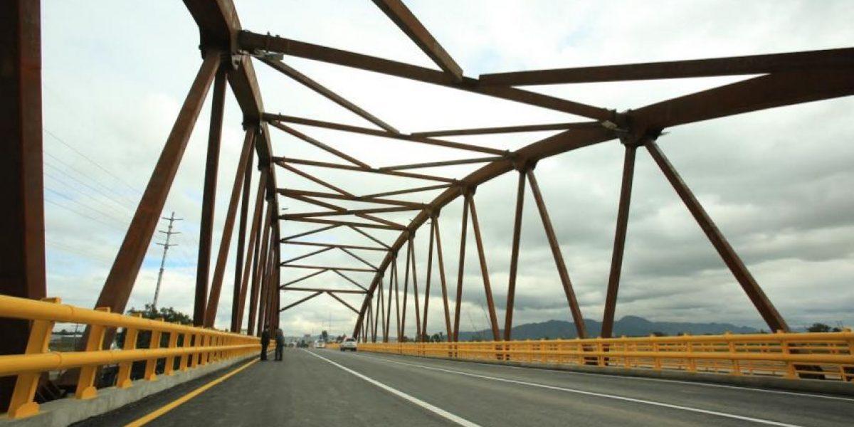 Inauguraron puente de El Cortijo entre Bogotá-Villeta