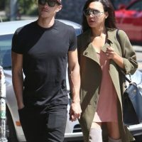Ryan Dorsey y Naya Rivera Foto: Grosby Group