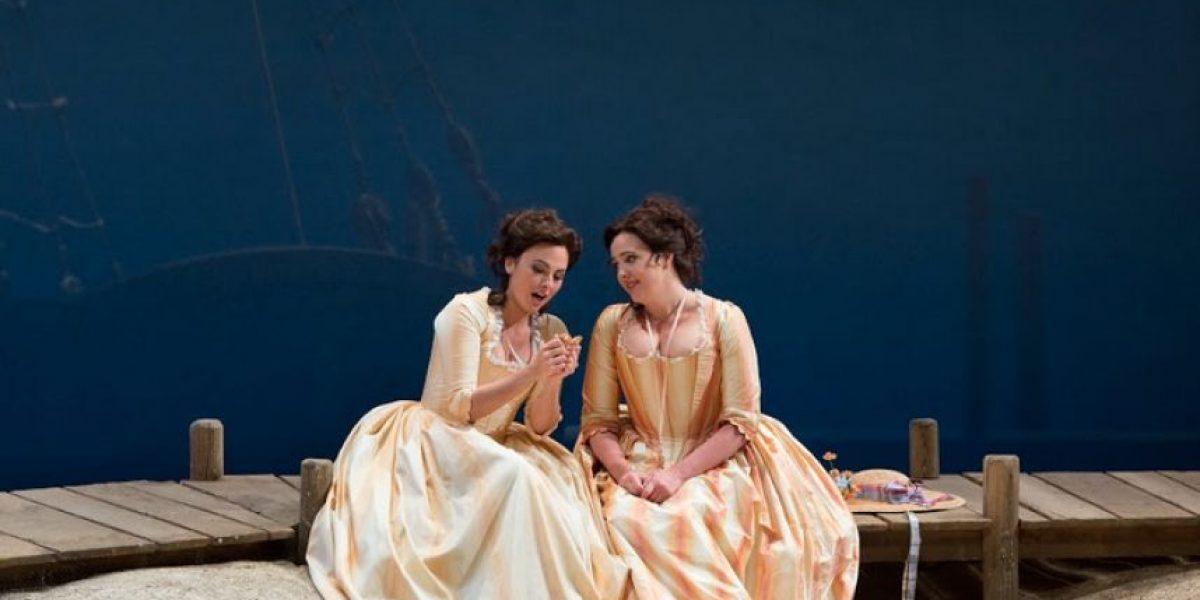 Cosí fan tutte, la opera de Mozart llegará a las salas de cine en una única función