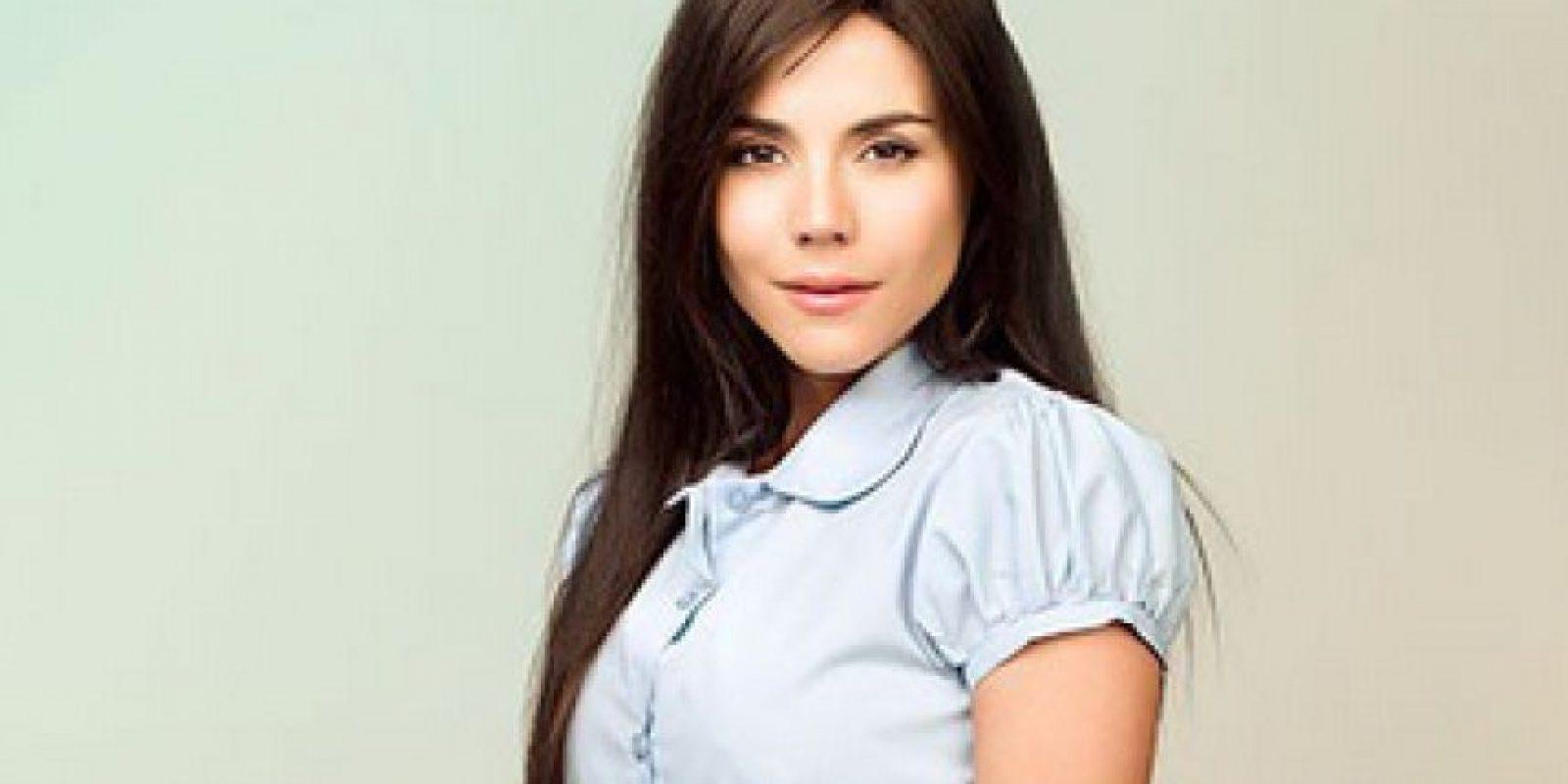 Carolina Gaitán es Catalina Marín Foto:Prensa Caracol tv. Imagen Por: Cortesía