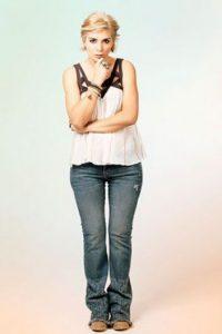 Marilyn Patiño es Lucía. Foto:Prensa Caracol tv