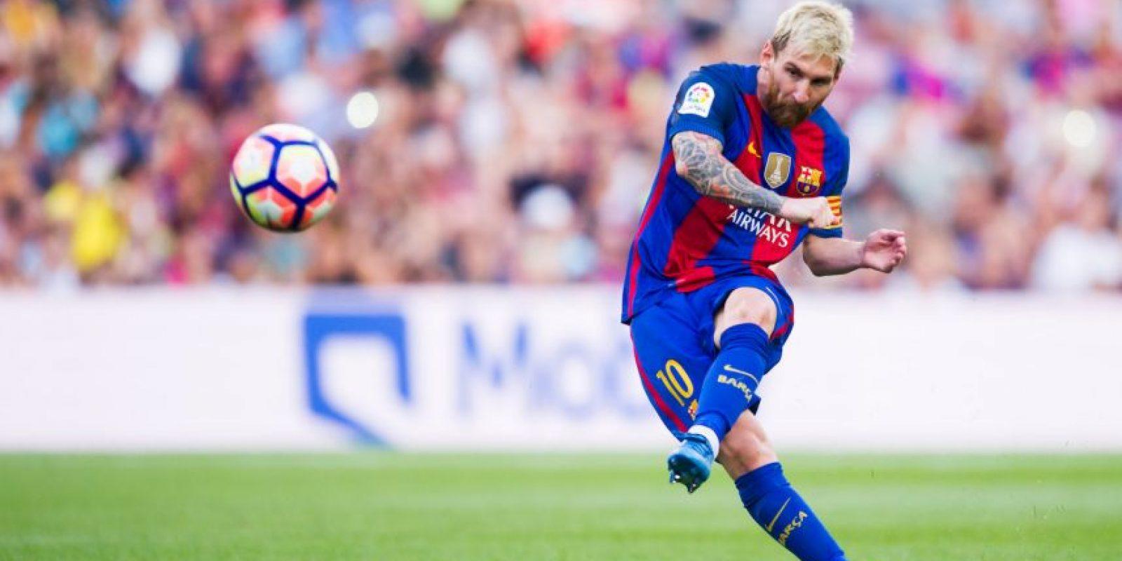Este es el equipo con el que Messi juega en el FIFA 16 Foto:Getty Images