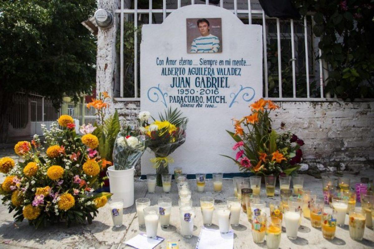 La casa donde nació Juan Gabriel en sus primeros años de vida Foto:AFP