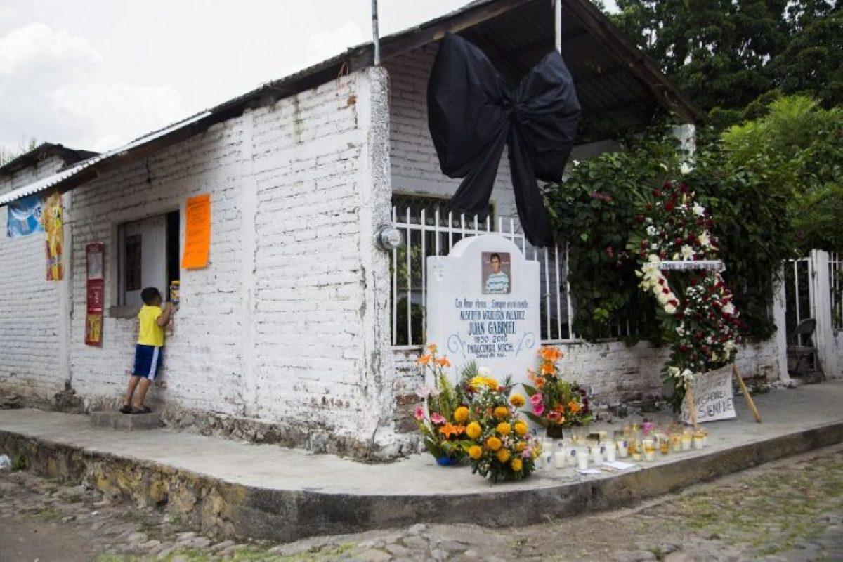 Se ubica en Parácuaro, Michoacán. Posteriormente se trasladó a Ciudad Juárez, cuando tenía 5 años de edad Foto:AFP