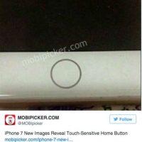 Otro rumor señala que el botón home podría ser touch. Foto:Twitter