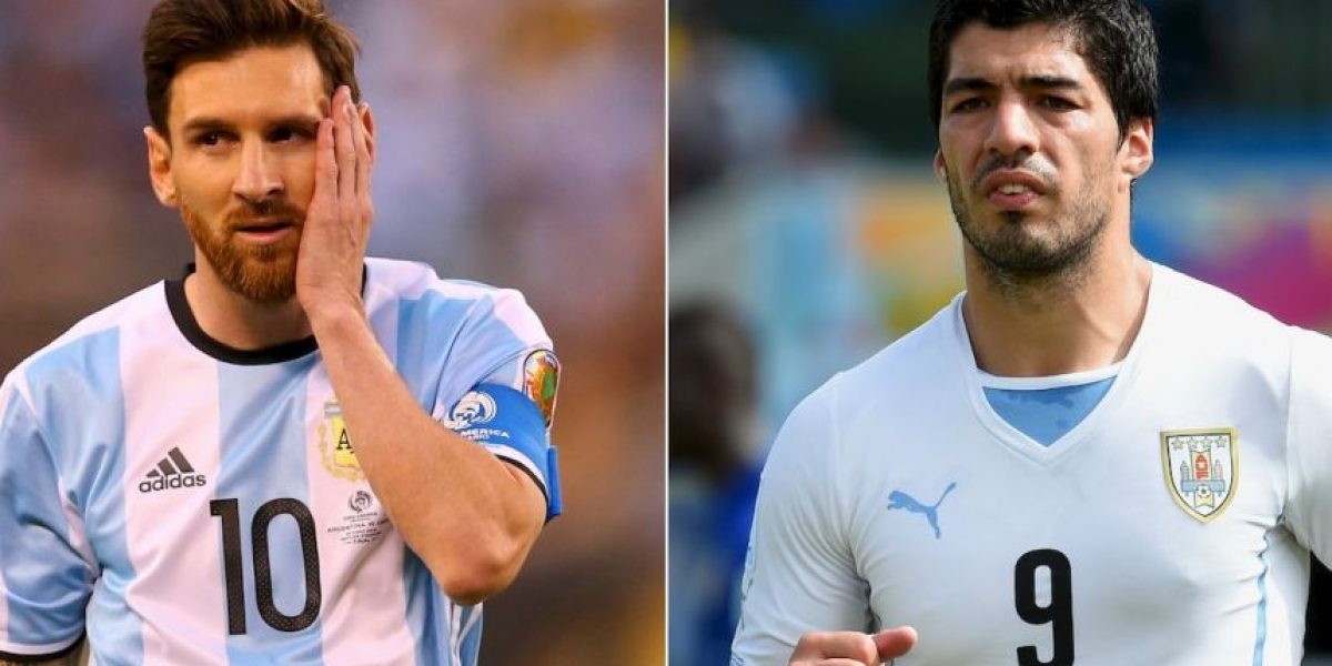 ¿A qué hora juegan Argentina vs. Uruguay por Eliminatorias Rusia 2018?