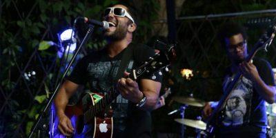 Pedro Rock, una banda venezolana residenciada en Cartagena aprovechó para darnos una muestra de su música en el Indie Week. Foto:Valerie Amor