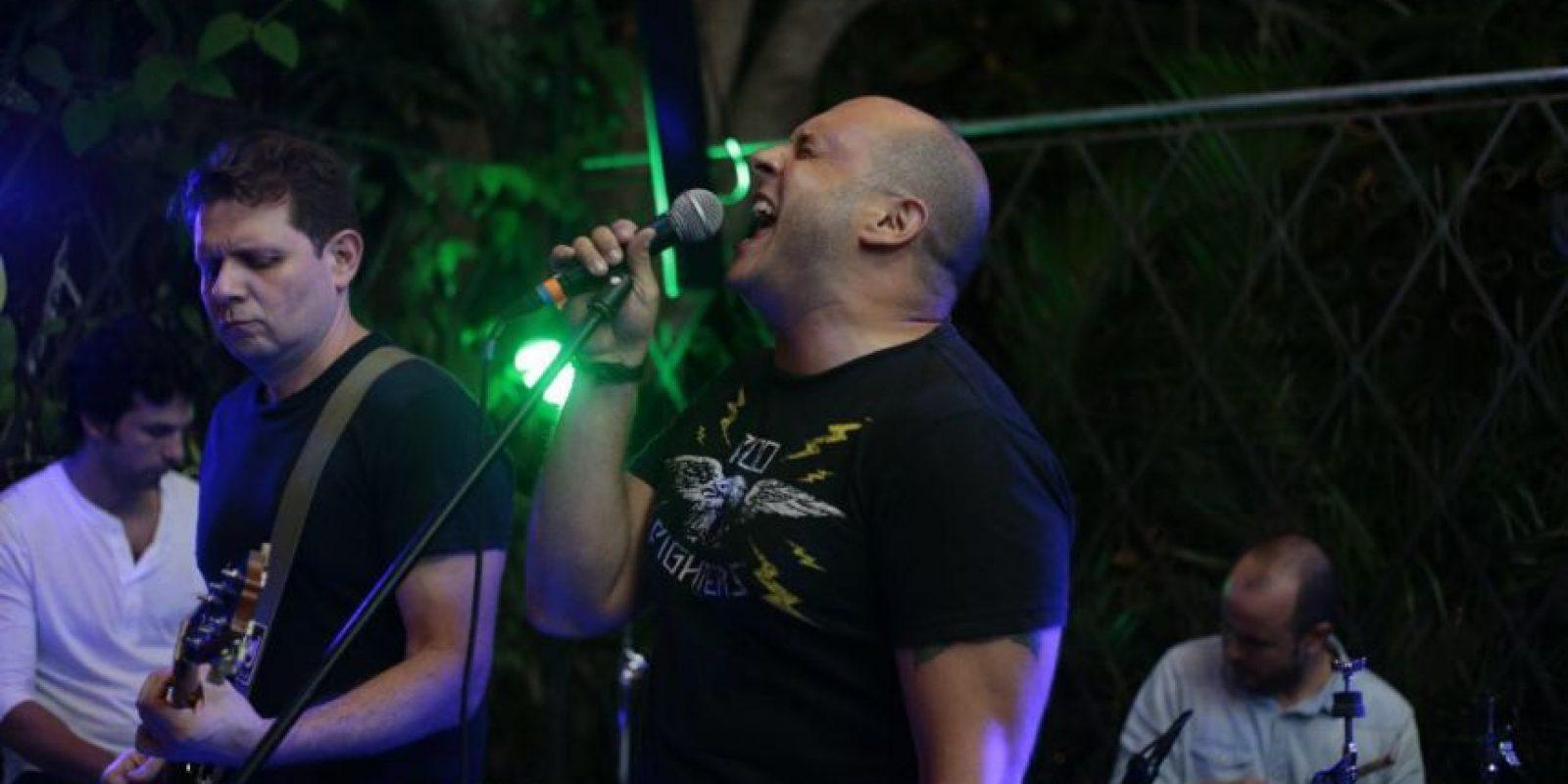 The Backdoor Man, una de las bandas que se presentó el martes, en la apertura del Indie Week. Foto:Valerie Amor