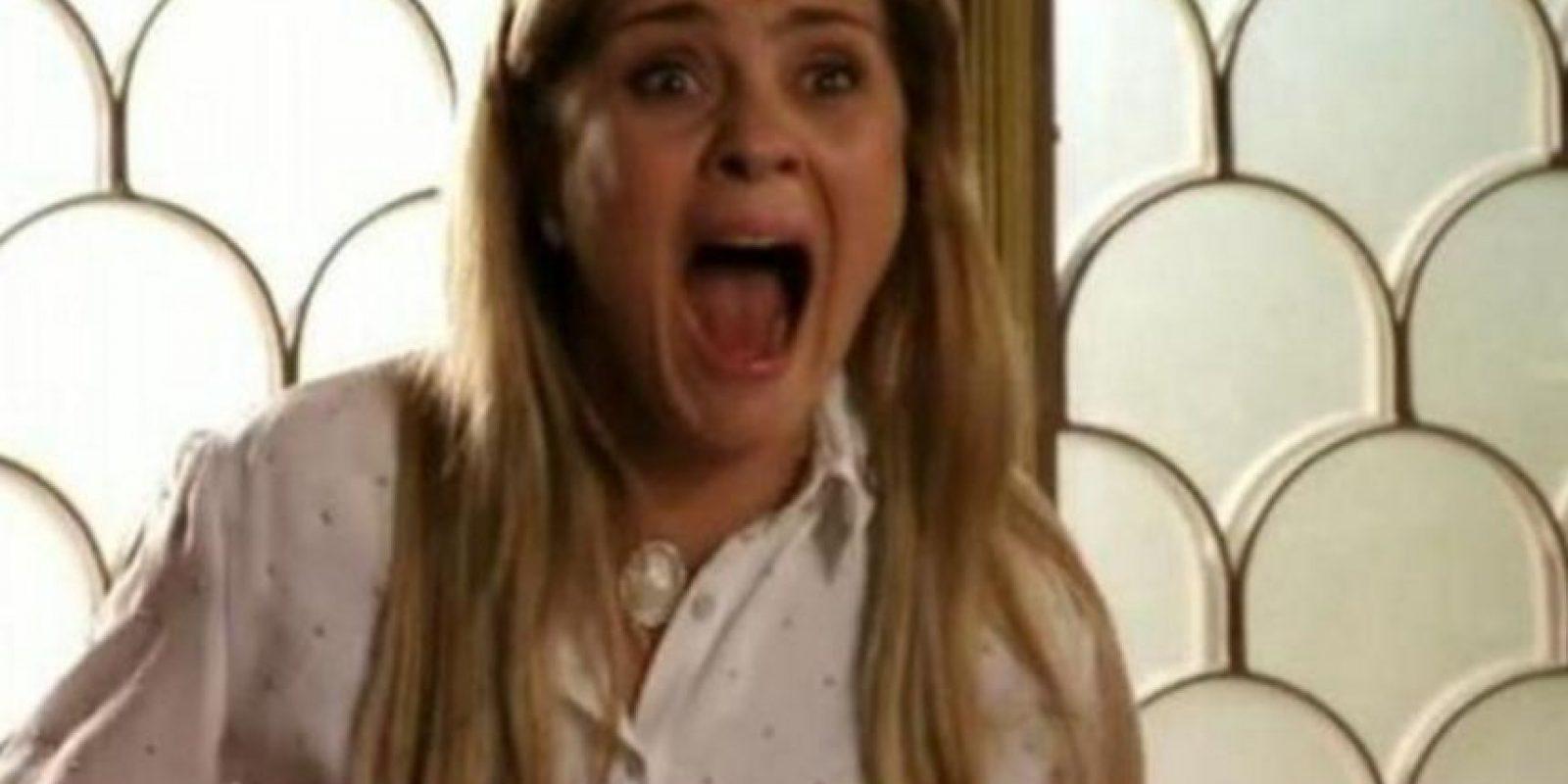 """""""Carminha"""" dejó a la actriz extenuada psicológicamente. Foto:Rede Globo"""