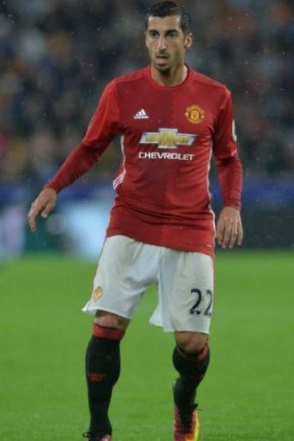 Henrij Mkhitaryan. Manchester United pagó 42 millones de euros al Borussia Dormund por el armenio