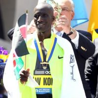 Entre ellos se encontraban el maratonista Wesley Korir Foto: Getty Images