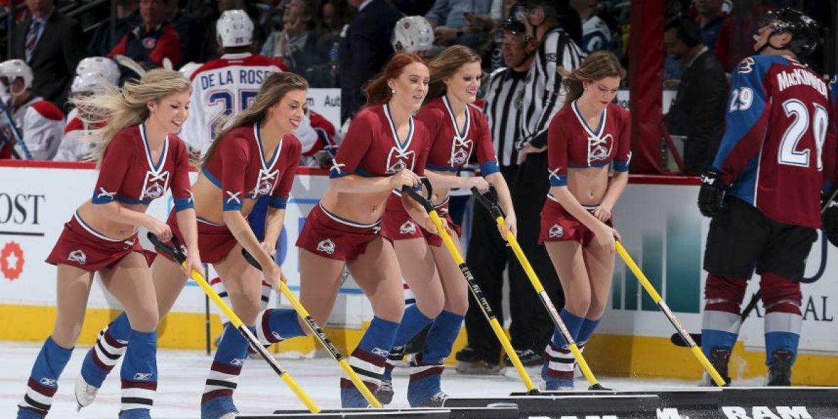 Ice girls, el atractivo visual del hockey sobre hielo