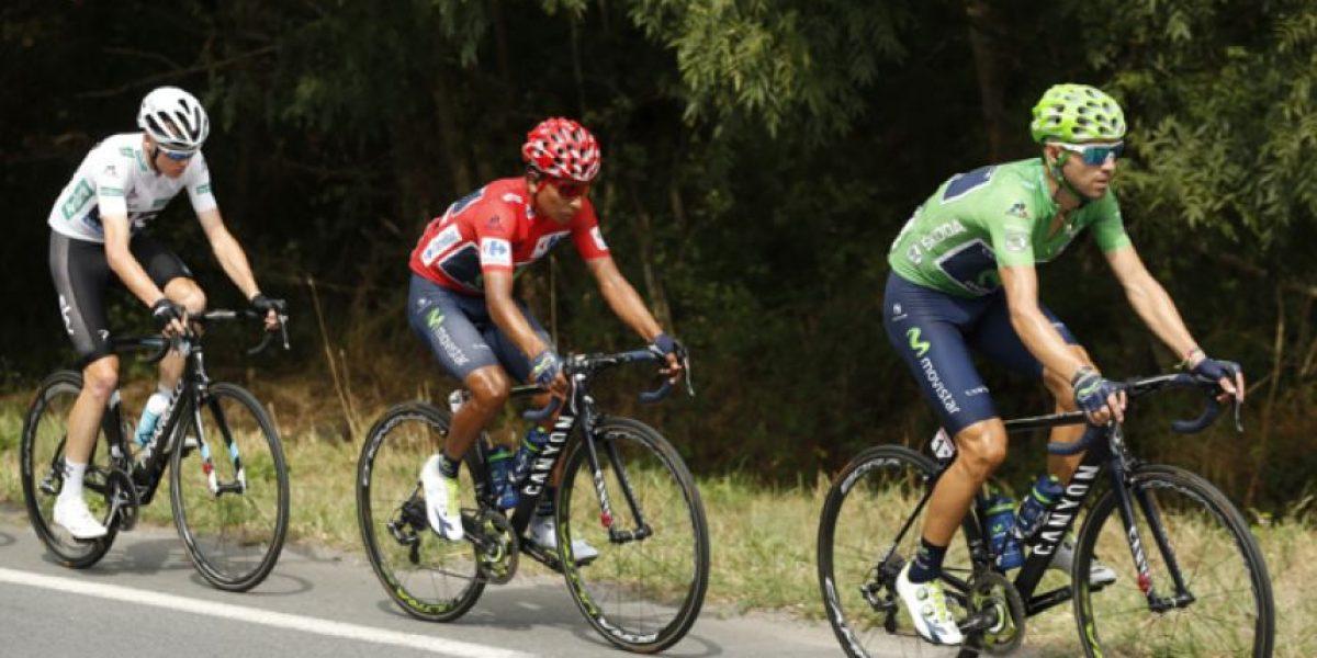 Nairo Quintana continúa líder en la Vuelta a España