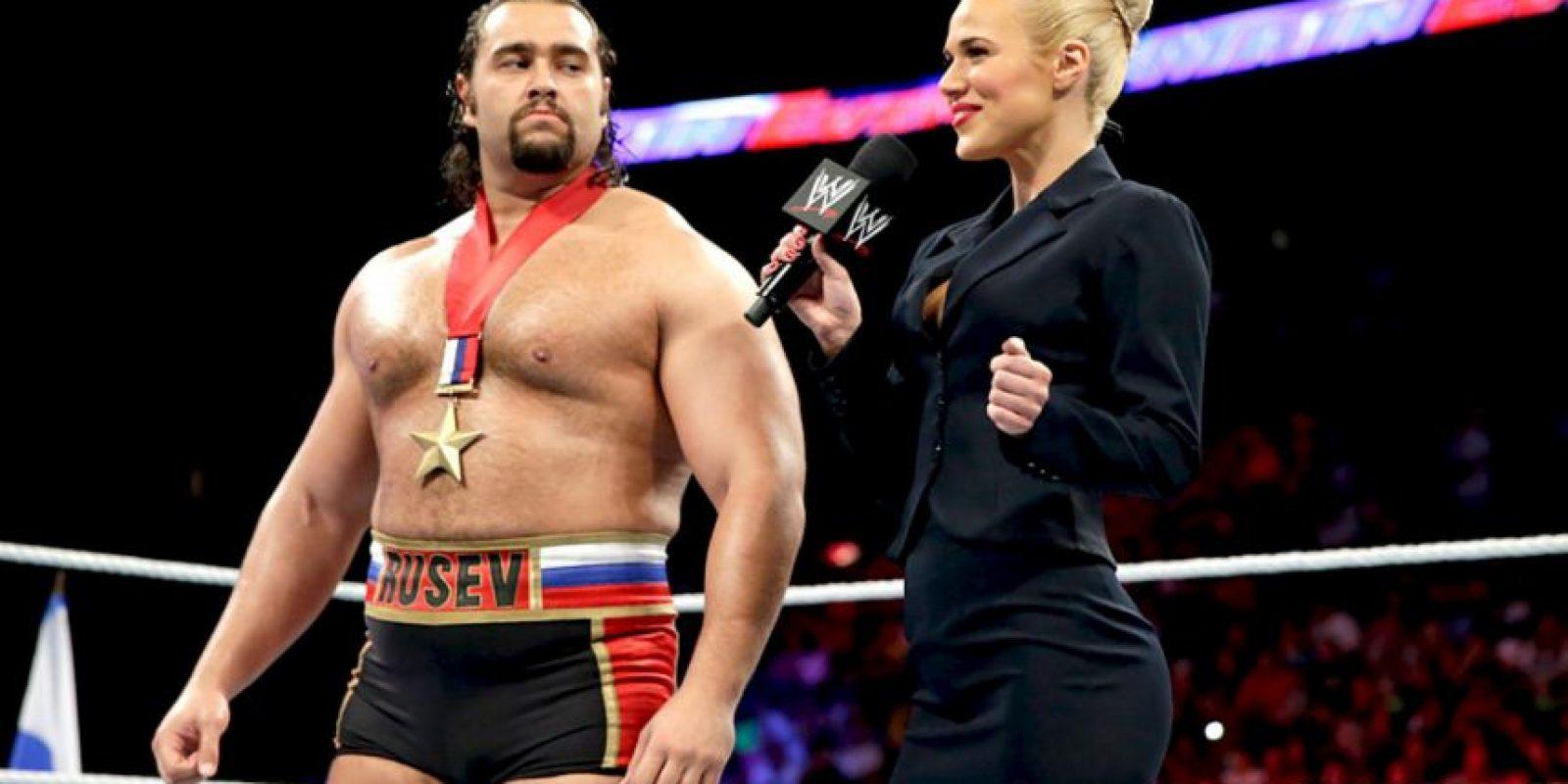 Las mejores imágenes de Lana y Rusev