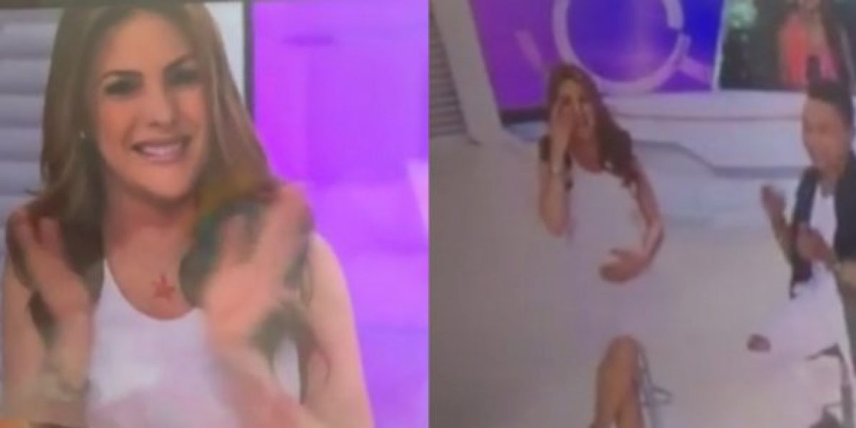 Ana Karina Soto lloró tras despedirse del set de Noticias RCN