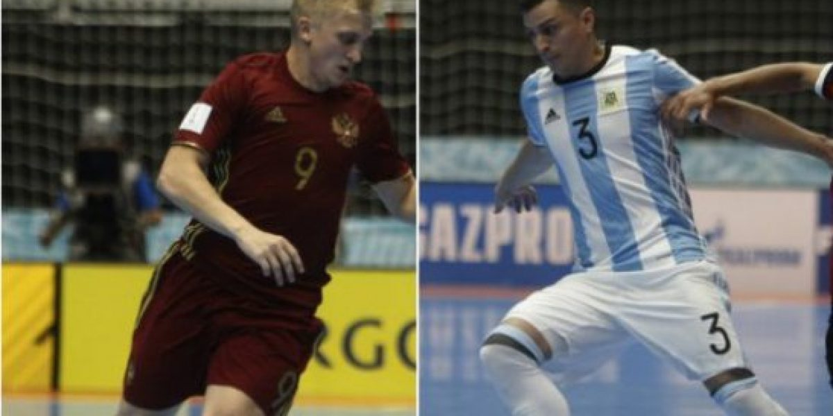 Argentina y Rusia, a buscar el título en la final del Mundial de Futsal