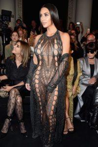 Los looks de Kim Kardashian en la Semana de la Moda en París Foto:Getty Images