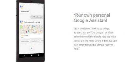 Google Pixel lega con asistente personal Foto:Carphone Warehouse/Google
