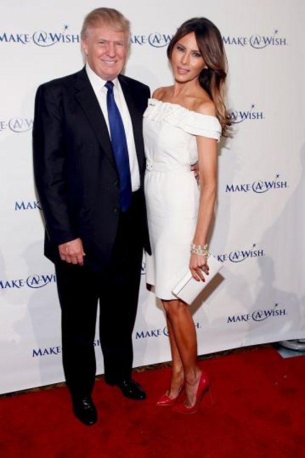 Es la esposa actual, se casaron en 2005. Foto:Getty Images