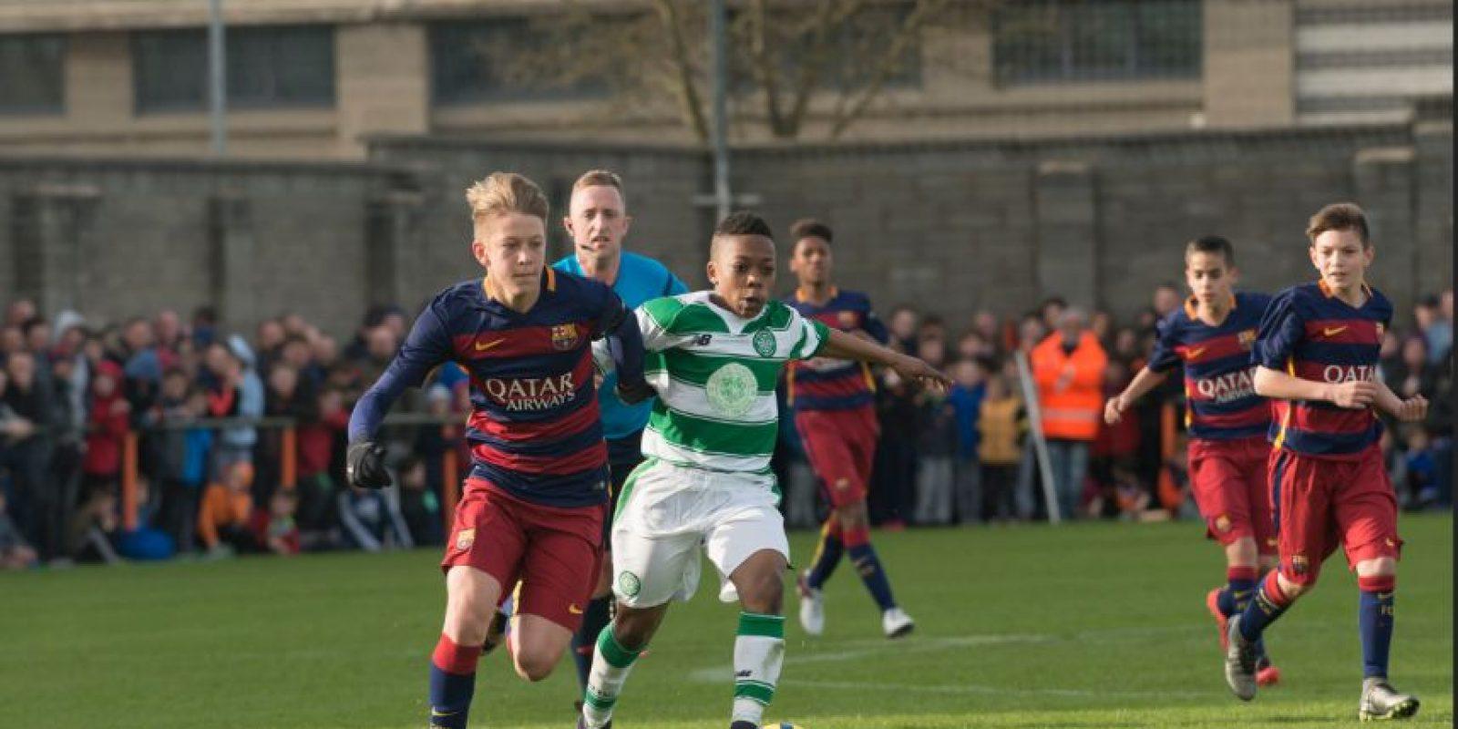 Nacido el 2003 en Costa de Marfil, llegó en 2013 al Celtic escocés . Foto:Paul Dolan-Flickr