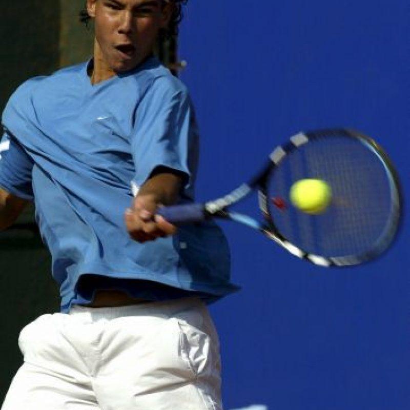 Nadal ganó su primer torneo de la ATP a los 15 años Foto:Getty Images