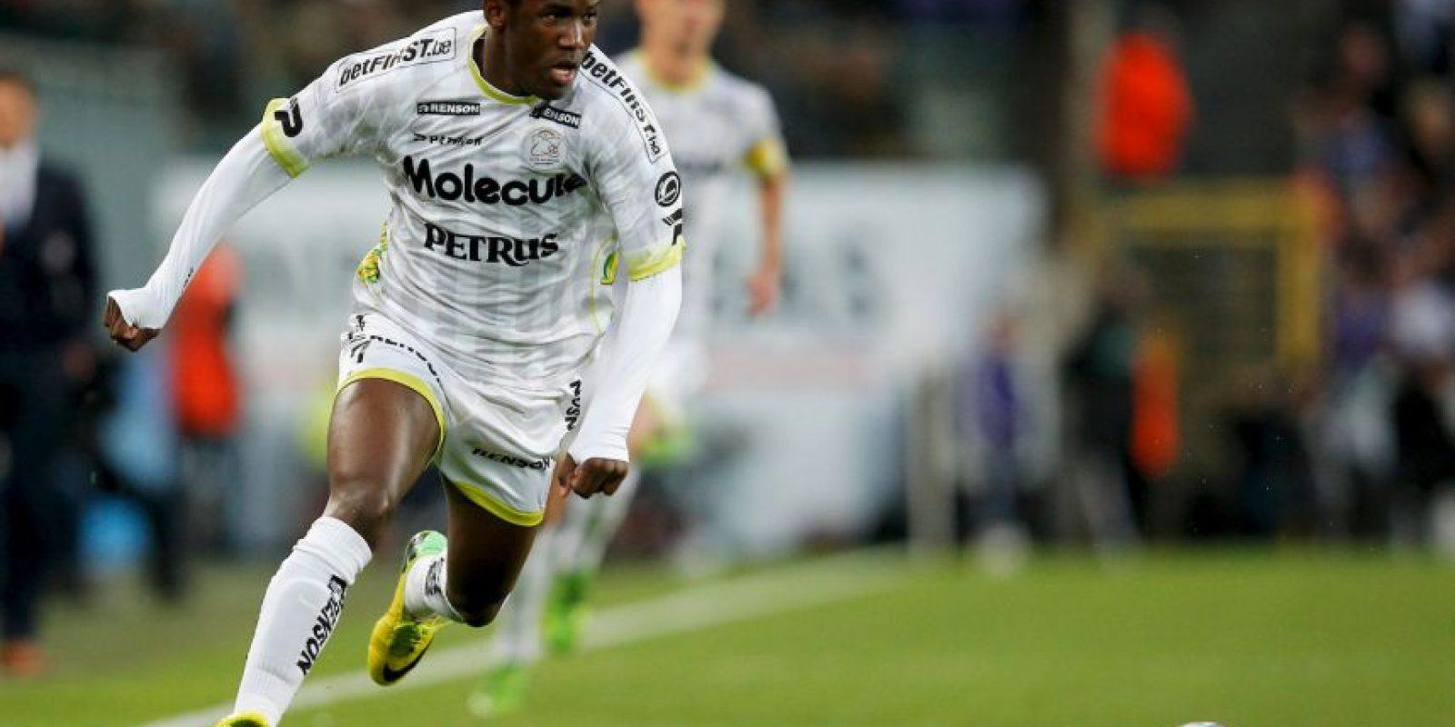 Fabrice Olinga es el futbolista más joven que marcó en la Liga de España. El camerunés anotó a los 16 años y 98 días Foto:Getty Images