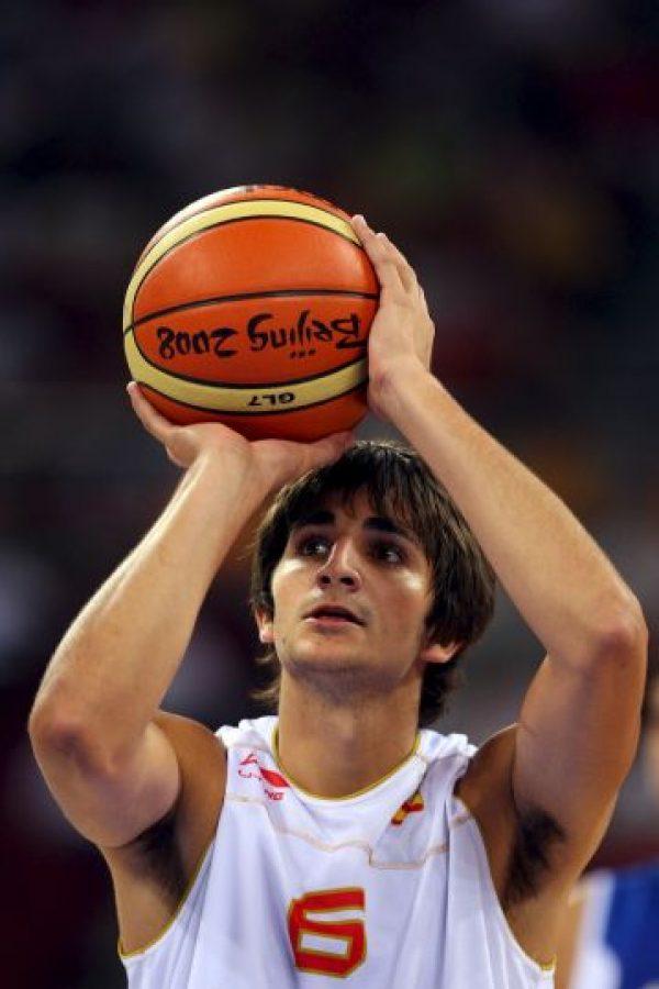 Ricky Rubio tenía 14 años cuando debutó en la Liga ACB Foto:Getty Images