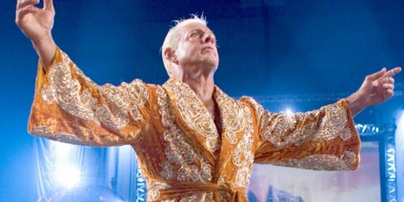 """""""El Jugador más sucio del juego"""" – Ric Flair Foto:WWE"""