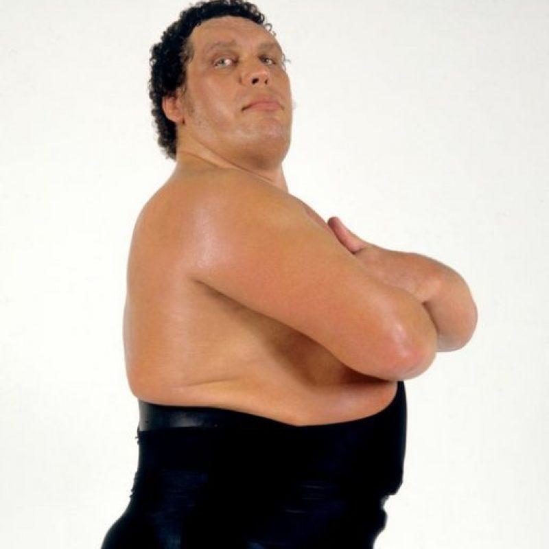 """La Octava maravilla del mundo"" – André El Gigante Foto:WWE"