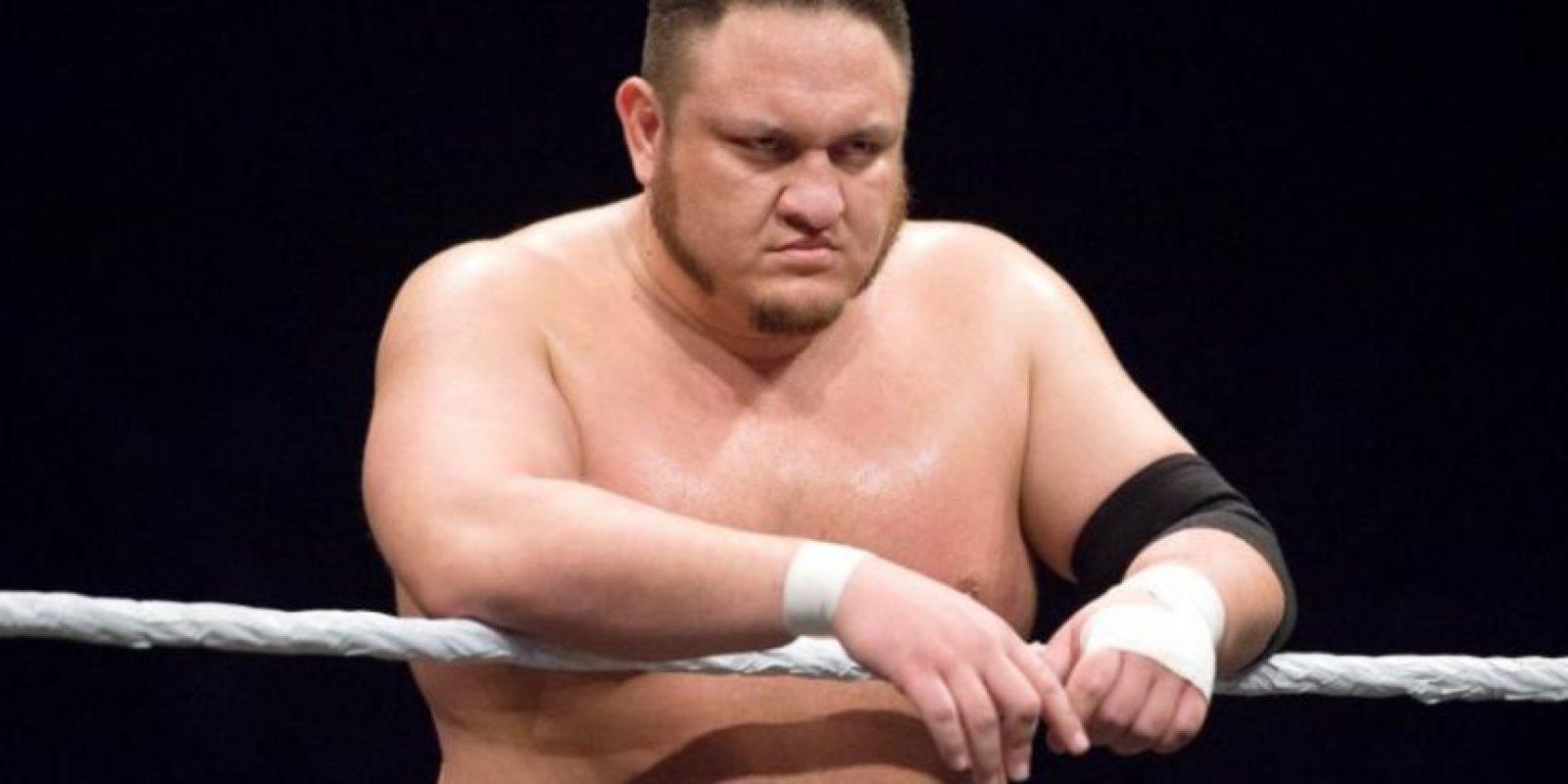 """La Máquina samoana de sometimientos"" – Samoa Joe Foto:WWE"