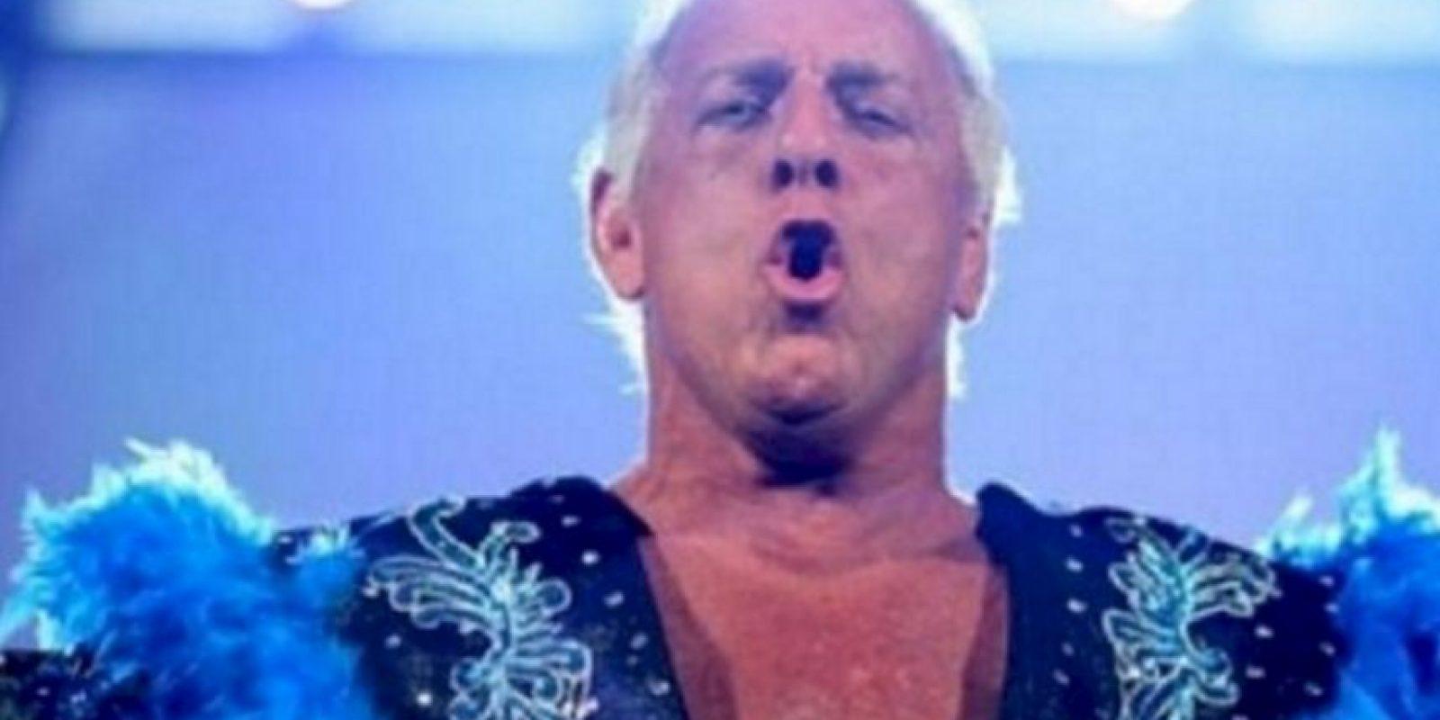 Se trata de Ric Flair Foto:WWE