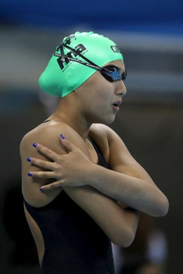 La nadadora Gaurika Singh fue la atleta más joven de Río 2016 con solo 13 años. Foto:Getty Images