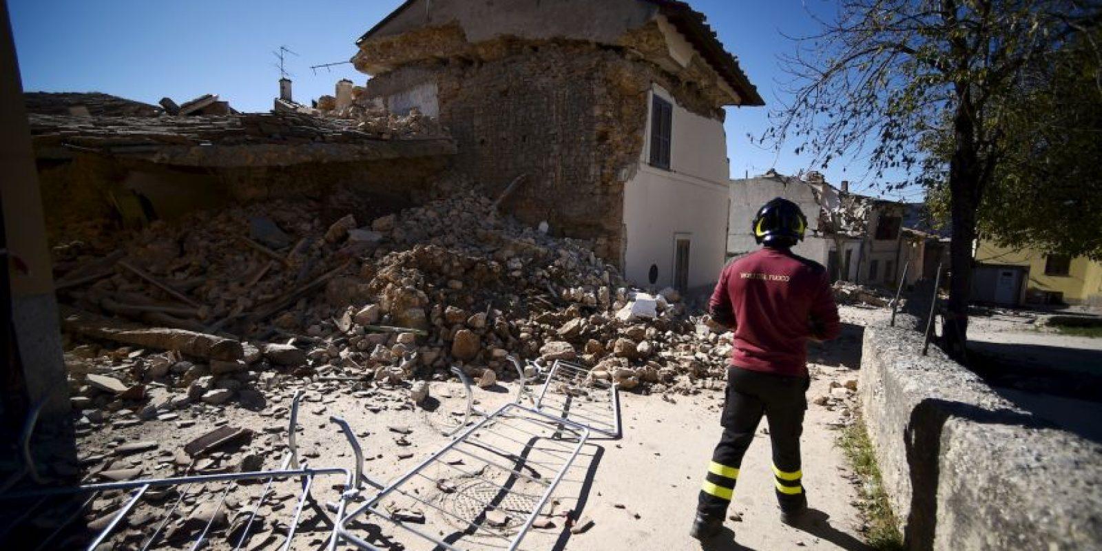 También afectó otras zonas, como San Pellegrino Foto:AFP