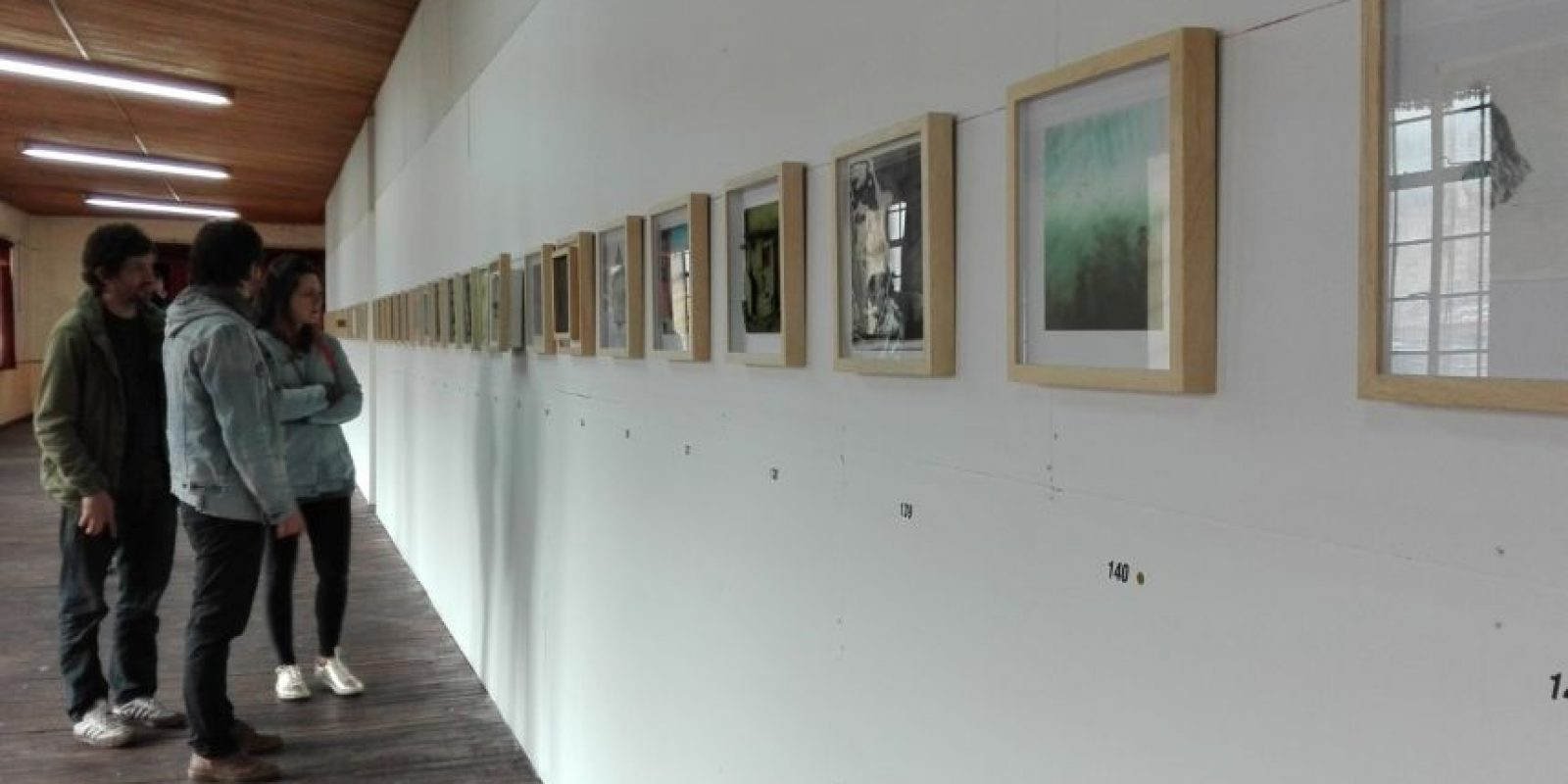 La Garza fuye la exposición que sirvió para recolectar dinero y poner a funcionar el tema Foto:Cortesía Alcaldía Local de Santa Fe