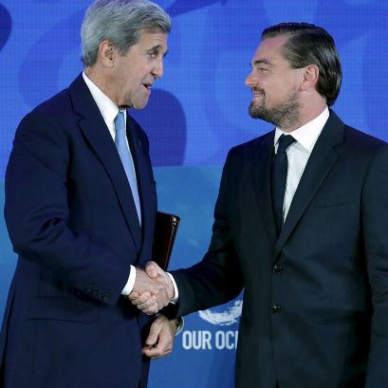 También se reunió con John Kerry, secretario de Estado de Estados Unidos Foto:Getty Images