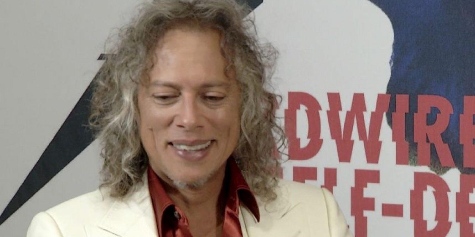 Kirk Hammett, guitarrista de Metallica Foto:Universal Music