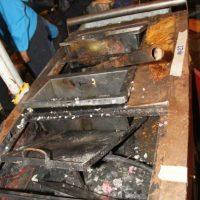 Algunas de las cocinas que se encontraron en precarias condiciones. Foto:Cortesía
