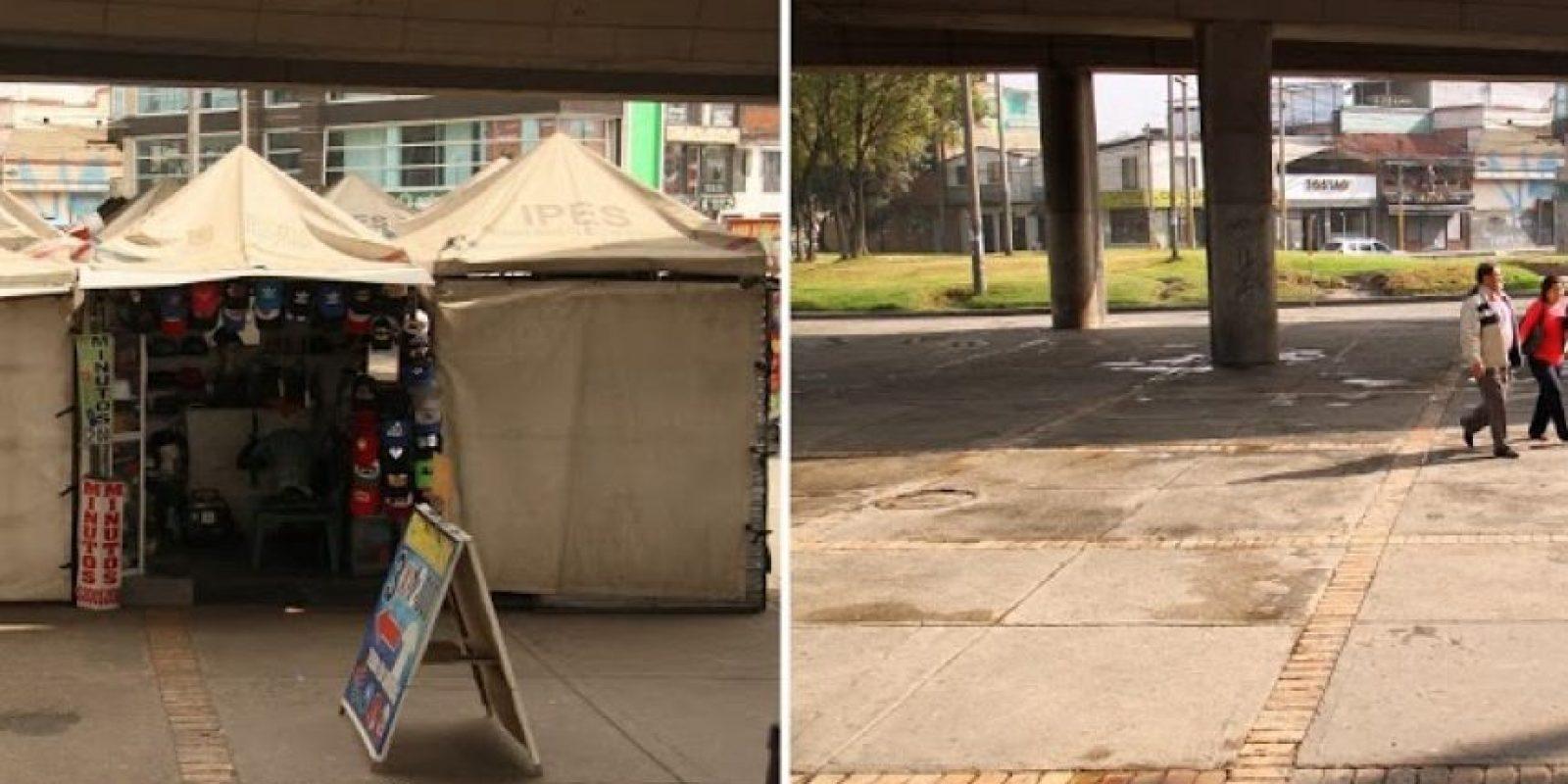 Antes y después Foto:Cortesía