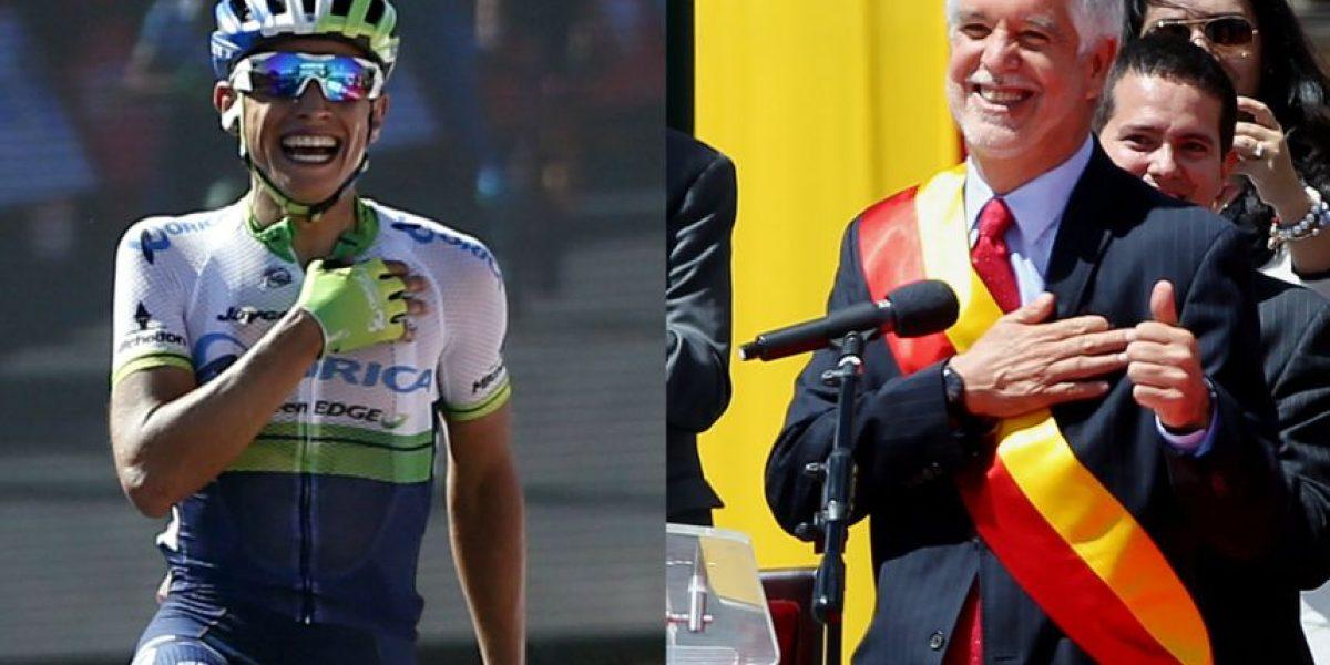 Mensaje de Esteban Chaves por el reto de la bicicleta entre Bogotá y Medellín