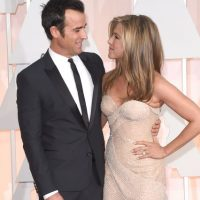Jennifer Aniston y Justin Theroux Foto:Getty Images
