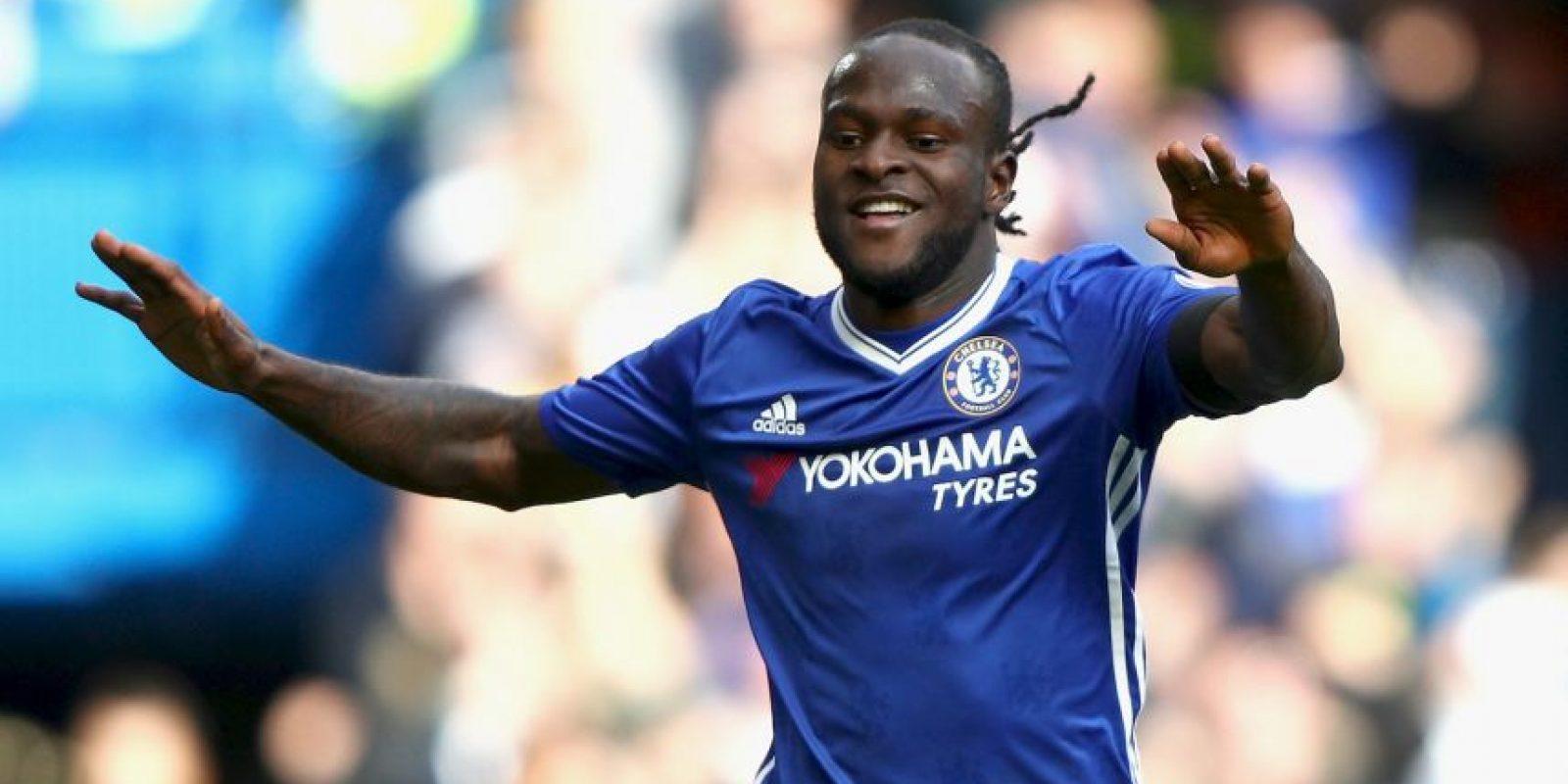 Victor Moses. De nueva cuenta el nigeriano es titular indiscutible en el Chelsea Foto:Getty Images