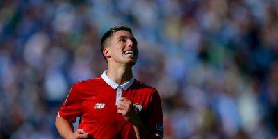 Samir Nasri. Salió por la puerta de atrás de Manchester City y ahora es titular indiscutible en Sevilla Foto:Getty Images